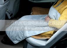 汽车电热抱枕毯